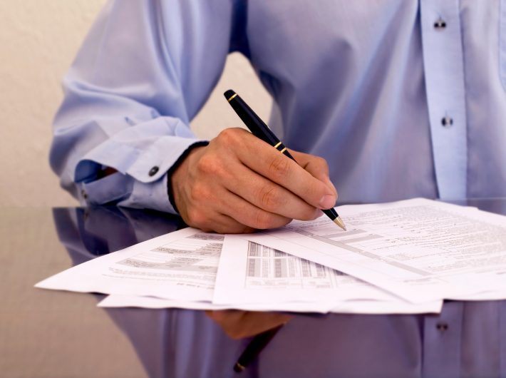 Заполняем бланк уведомления о снятии иностранца с учёта